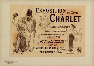 Adolphe WILLETTE - Exposition des oeuvres de CHARLET