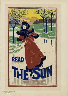 Louis RHEAD - READ THE SUN