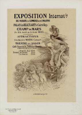 Adolphe WILLETTE - EXPOSITION Internationale.....